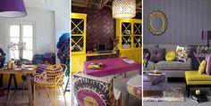 Quelle va être LA tendance déco 2014 ? Sachez que cette année, deux couleurs étonnantes se distinguent particulièrement : le jaune et le violet. À vous de choisir ! Le violet ...