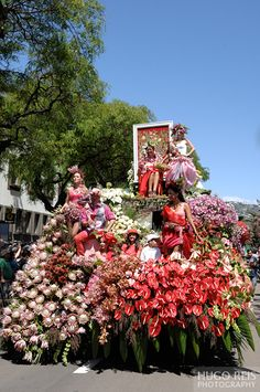 MADEIRA ISLANDS FLOWER FESTIVAL , Potugal 2013 by Hugo Reis, via Behance