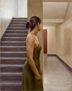 Harry Holland: Corridor - Oil on canvas, 62 x 50 National Museum Of Wales, The Mind's Eye, Tate Gallery, The New Wave, Corridor, Hyde, Beautiful Paintings, Life Is Beautiful, Fine Art Paper