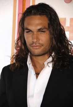 Jason Momoa ... I've died and gone to Hawaiian hot man best-place-in-the-universe heaven & I never want to leave. Dream.