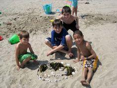 Beach time fun with Fresh Air friends!
