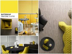 How to decorate your home with Pantone yellow buttercup Yellow Pantone, Decorating Your Home, Home Appliances, Projects, Inspiration, Home Decor, House Appliances, Log Projects, Biblical Inspiration