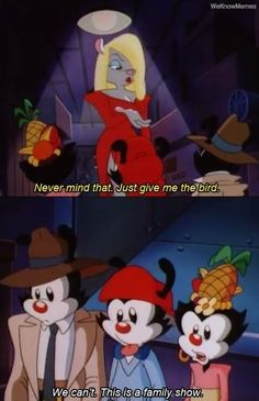 yakko wakko and dot Memes Humor, Funny Memes, Hilarious, Nerd Memes, Rasengan Vs Chidori, Illuminati, Old Cartoons, Cartoon Jokes, Classic Cartoons