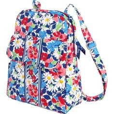 Vera Bradley Backpack ($67) ❤ liked on Polyvore