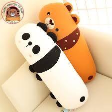 Resultado de imagen para accesorios Stuffed Animals, Pillows, Pandas, Bags, Woman, Accessories, Art, Softies, Stuffed Toys