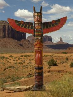 American Indian Wooden Eagle Totem Pole - 150cm | Fair Trade Gift Store | Siiren