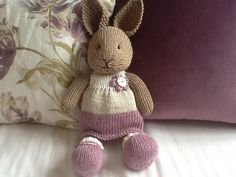 http://www.ravelry.com/projects/Kirsty1234/bunny-girl-in-a-dotty-dress