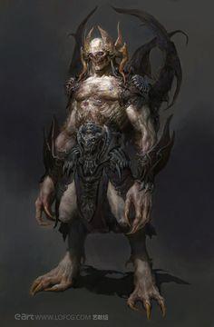 Monster by FenghuaArt.deviantart.com on @DeviantArt