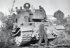 VK 4501 with 003 number - the only one prototype which was fighting on eastern front. This tank was commanded by Hauptmann Grillenberg