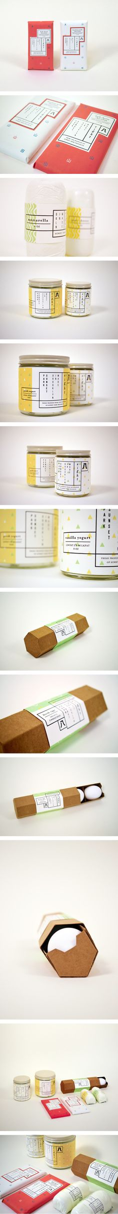 8 | Eight Rooftop Gardens Packaging by Esther Li. Great story behind the #packaging PD                                                                                                                            More