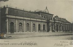 Station van Eindhoven in 1901 Eindhoven, Louvre, Van, History, Building, Travel, Historia, Viajes, Vans