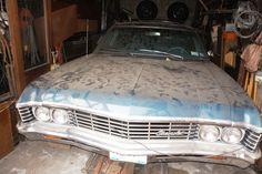 Fresh out of years of storage this Impala starts right up and purrs. Car is Tahoe Chevrolet Impala, Station Wagon