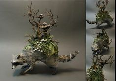 Ellen Jewett sculptures