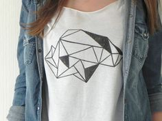 minu.design: DIY - Geometric T-Shirt