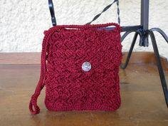 My dark red purse on etsy!