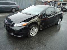 Salvage 2012 HONDA CIVIC EX for sale  THIS IS A SALVAGE REPAIRABLE VEHICLE WITH LEFT SIDE COLLISION DAMAGE . THIS VEHICLE RUNS , DRIVES AND HAS ALL AIRBAGS INTACT. For more information and immediate assistance, please call +1-718-991-8888