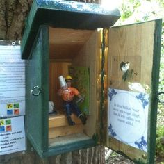 """Looks like you're """"privy"""" to the logbook when you find this geocache. :) (pinned from websta to Creative Geocache Containers - pinterest.com/islandbuttons/creative-geocache-containers/) #IBGCp"""