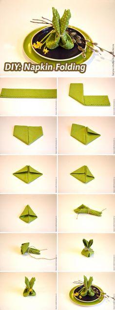 Lotus Leaf Napkin Folding :  falten on Pinterest  Napkin folding, Napkins and Toilet paper origami