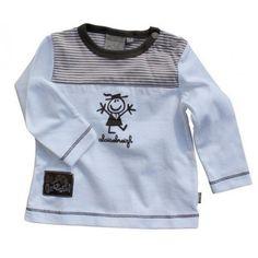 C'est un tee shirt breton pour bébé.