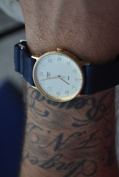 Timex-love the strap