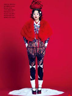 Vogue Korea: Snow Plum | Tom & Lorenzo