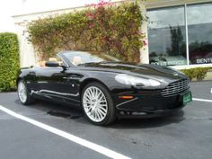 """2009 Aston Martin  DB9 Volante 2009 Aston Martin  DB9 Volante *** ONLY 10,850 MILES *** ONE PALM BEACH OWNER! LISTED NEW FOR $206,325.00! DB9 V12! 19"""" 20-SPOKE SILVER DIAMOND WHEELS! BRIGHT FINISHED GRILLE! K-40 ... Black/Tan   View Details 
