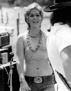 Sammi Smith, one of the few women in the outlaw country movement during the 1970s.