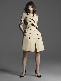 広瀬すず Japan Girl, Pretty Woman, Beautiful Women, Coat, Sexy, Jackets, Beauty, Style, Gq Japan