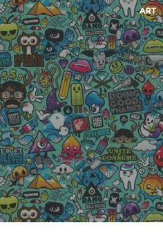Abstract cartoons colorful funky wallpaper, wallpaper backgrounds, iphone wallpapers, ipad background, my Mandala Wallpaper, Ipad Mini Wallpaper, Graffiti Wallpaper Iphone, Wallpaper Doodle, Funky Wallpaper, Artistic Wallpaper, Pop Art Wallpaper, Wallpaper Keren, Hipster Wallpaper
