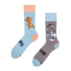Tom and Jerry ™ Regular Socks Trap Tom And Jerry, Good Mood, Gift For Lover, First Love, Two By Two, Toms, Socks