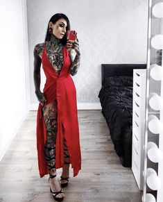 Monami Frost | red dress