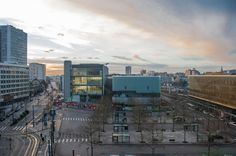 Marc BARANI and Christophe PRESLE designed the 'Centre de Congrès' in Austria. http://en.51arch.com/2014/08/a3096-centre-de-congres/