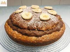 Torta alla Crema di Banana Senza Burro - Dolci Senza Burro