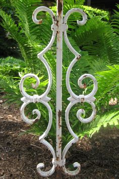 Jugendstil Green Painted Wrought Iron Fence And Gates | Gates, Wrought Iron  Fences And Iron