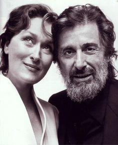 Al Pacino y Meryl Streep, 2003
