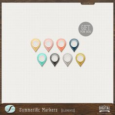 Quality DigiScrap Freebies: Summerific Markers freebie from Creashens