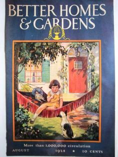 1928 Better Homes And Gardens Magazine Cover