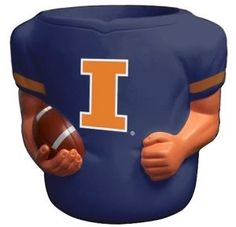 Illinois Fighting Illini Jersey Can Cooler