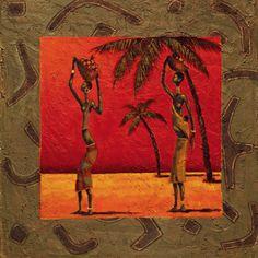 African Influence (Decorative Art) Art Print at AllPosters.com