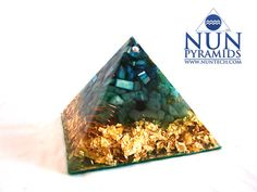 Large Crystal Orgone Pyramid For Attracting Wealth by drnebheru