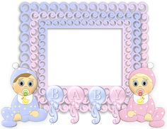 Pinned onto Baby Stuff Board in Stuff Category Baby Picture Frames, Baby Frame, Baby Scrapbook, Scrapbook Cards, Baby Boy Invitations, Image Transparent, Cute Frames, Baby Shawer, Birthday Frames
