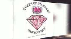 Celebrating the Queen of Diamonds Hair Boutique website!