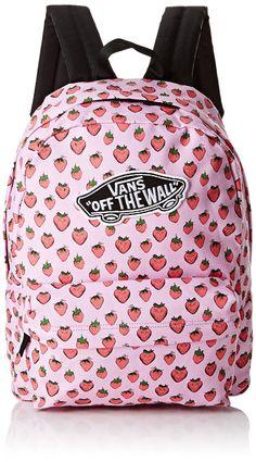 mochila vans niña rosa