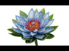 PART 2 of 2: Beaded Flowers / Цветы из бисера (photos)
