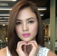 LOVE or HATE? Sofia Andres aka Kate Saavedra in Forevermore ... www.lionheartv.net480 × 472Search by image Courtesy: Sofia Andres's Instagram Filipina Actress, Filipina Beauty, Asian Celebrities, Celebs, Philippine Women, Attractive Girls, Hair Highlights, Pretty Face, Celebrity Crush