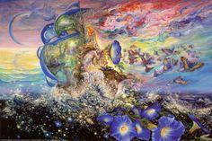 Andromeda's Quest Poster von Josephine Wall bei AllPosters.de