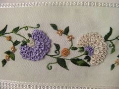 brazilian embroidery tutorial - Поиск в Google