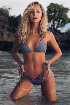 How I'd rather be salty hair don't care 🤷🏼♀️ Bikini Swimwear, Sexy Bikini, Bikini Girls, Swimsuits, Bikini Beach, Bikini Set, Surf Girls, Beach Girls, Playboy
