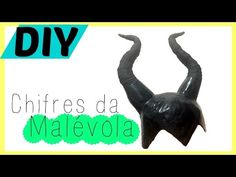 CHIFRES   FANTASIA / COSPLAY   COMO FAZER   DIY - YouTube