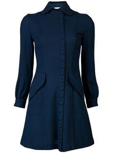 Ossie Clark Vintage Wool Dress